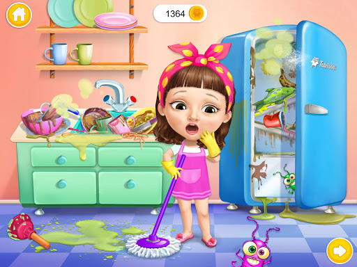 Sweet Baby Girl Cleanup 5 - Messy House Makeover 7.0.30030 screenshots 10