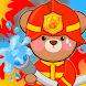 子ども消防車ゲーム - 消防士ゲームあそび  - ロールプレイ、教育、仕事 - Androidアプリ