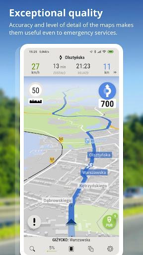 AutoMapa - GPS navigation, CB Radio, radars 5.8.5 (3442) screenshots 1