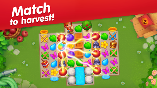 Greenvale: Match Three Puzzles & Farming Game! 1.3.2 screenshots 4