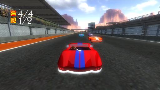 racing game 3d screenshot 3