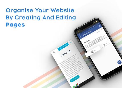 Instant Website Builder: Websites.co.in App apktram screenshots 12