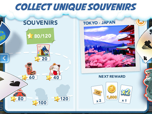 Destination Solitaire - Fun Puzzle Card Games! 2.5.2 screenshots 8