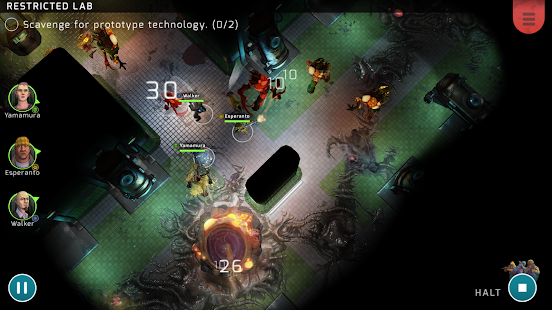 Xenowerk Tactics Screenshot