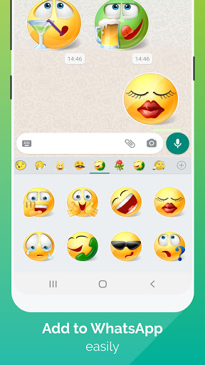 WhatSmiley - Smileys, Stickers & WAStickerApps android2mod screenshots 2