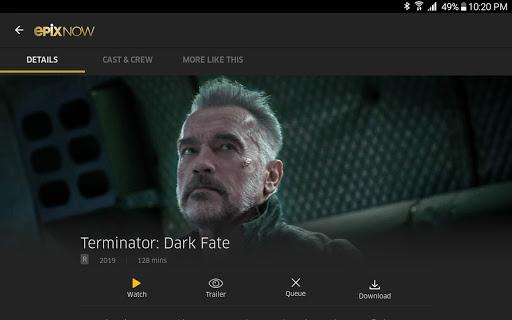 EPIX NOW: Watch TV and Movies apkdebit screenshots 16