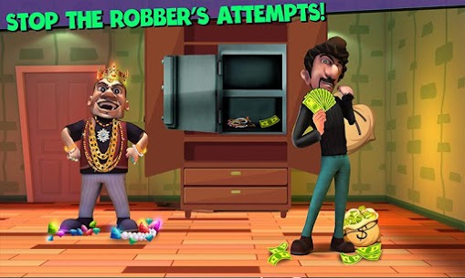 Scary Robber Home Clash Apk Mod + OBB/Data for Android. 5