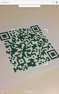 QR Code Reader and Scanner: App for Android Screenshot
