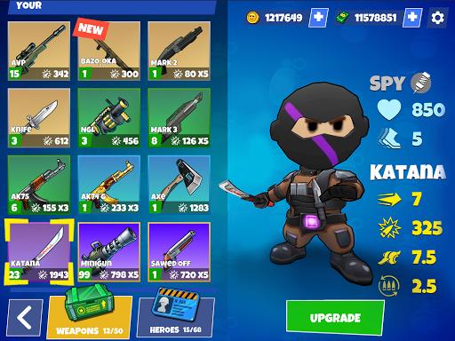 Warriors.io - Battle Royale Action  screenshots 16