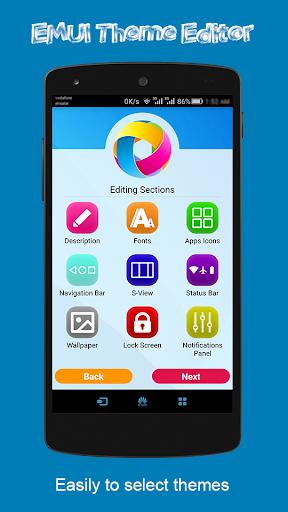 Theme Editor For EMUI 1.15.1 Screenshots 2