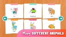 着色や描く出来る動物の塗り絵 - ぬりえ 無料のおすすめ画像4