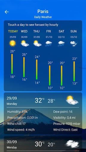 Weather forecast  Screenshots 4