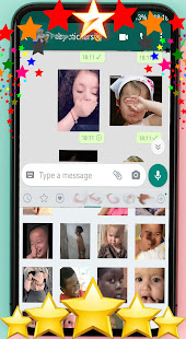 ud83dude0dAnimated baby stickers for WhatsAppud83dudc76ud83cudffb 1.0 screenshots 4