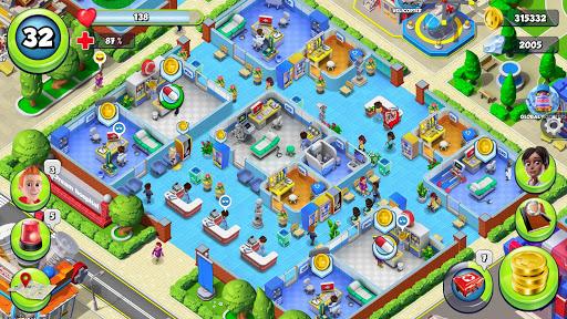 Dream Hospital - Health Care Manager Simulator apkpoly screenshots 24