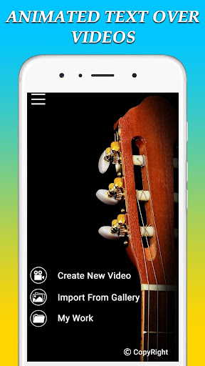 Animated Text On Video screenshots 1