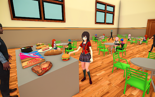 YUMI Girl High School Simulator - Anime Simulator 1.0 screenshots 8