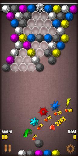 Magnetic Balls HD Free: Match 3 Physics Puzzle  screenshots 2