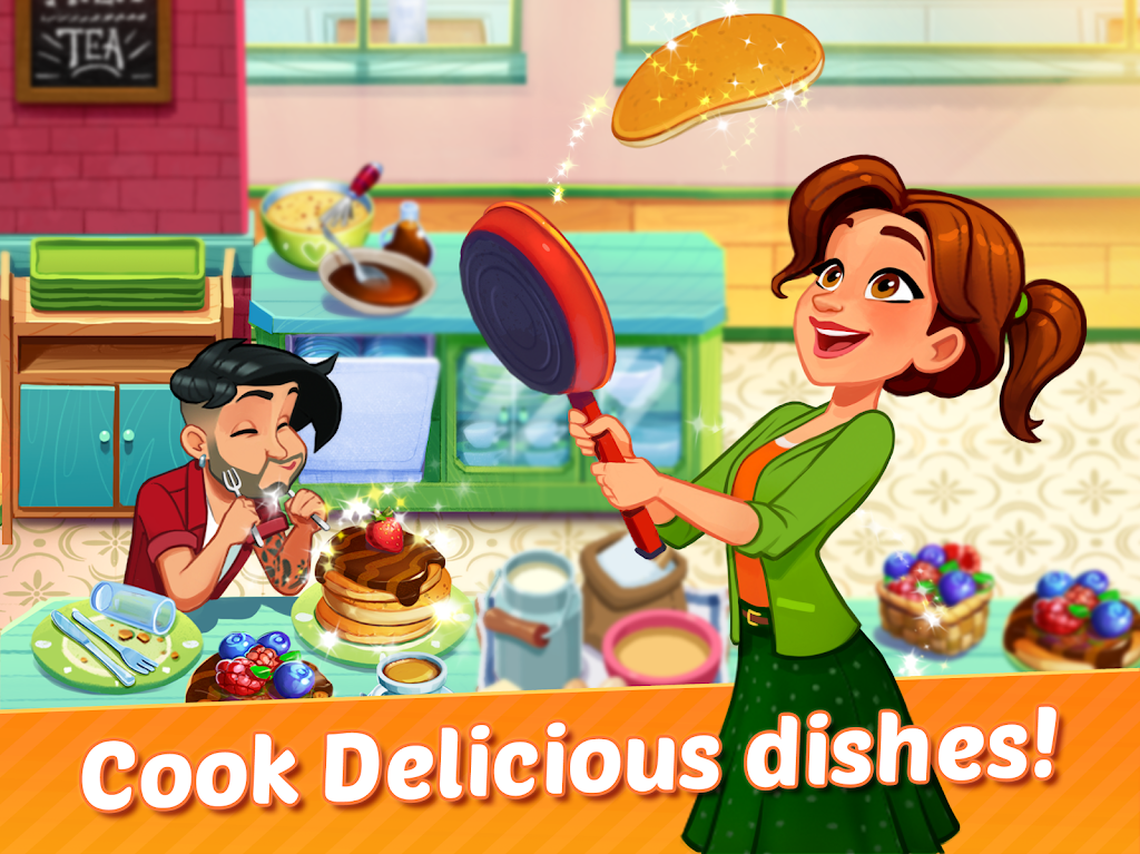 Delicious World - Cooking Restaurant Game poster 6