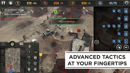 Company of Heroes Apk Mod + OBB/Data for Android. 5
