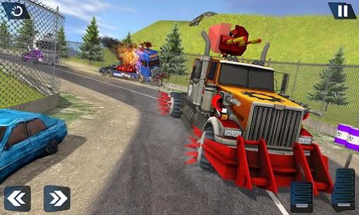Semi Truck Crash Race 2021: New Demolition Derby 4
