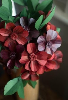 花ペーパークラフトチュートリアルのおすすめ画像4