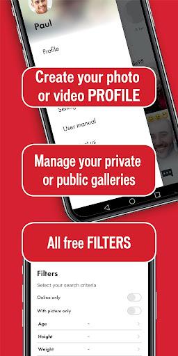 JocK - Gay video dating and gay video chat  Screenshots 11