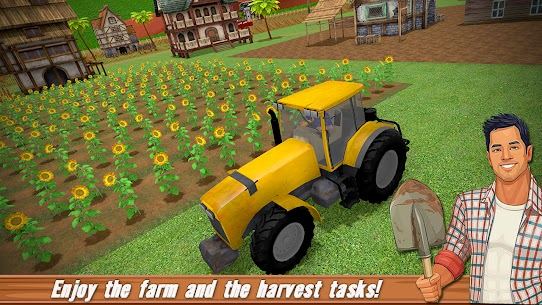 Free US farming Games New Tractor Driving Games 2021 3