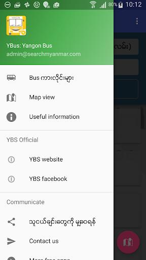 Yangon Bus (YBus) 2.1.1 Screenshots 2