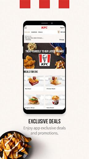 KFC Malaysia 1.7.6 Screenshots 2