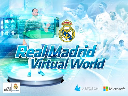 Real Madrid Virtual World Screenshot