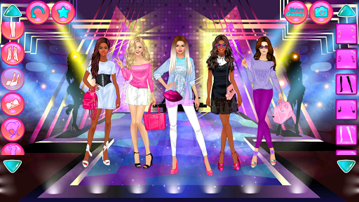 Girl Squad Fashion - BFF Fashionista Dress Up  screenshots 4