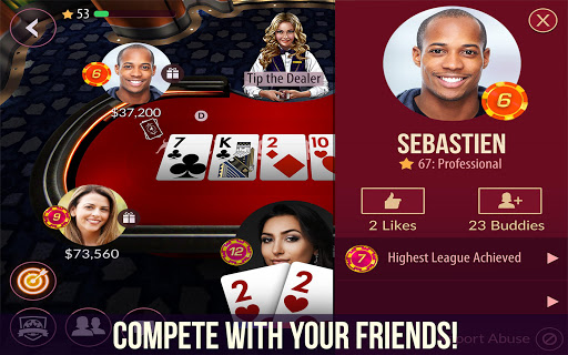 Zynga Poker u2013 Free Texas Holdem Online Card Games 22.02 screenshots 2