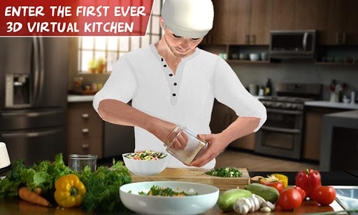 Virtual Chef Cooking Game 3D: Super Chef Kitchen 2.4.3 screenshots 4