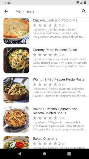 Recipes for Dinner 5.07 Screenshots 2
