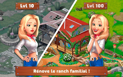 Télécharger Gratuit Rancho Blast: Family Story APK MOD (Astuce) screenshots 1