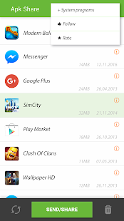 Apk Share Bluetooth - Send/Backup/Uninstall/Manage 3.4.5 Screenshots 6