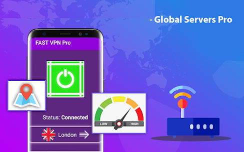 Fast VPN Pro – Fastest Servers & Hotspot VPN Proxy For Android 2