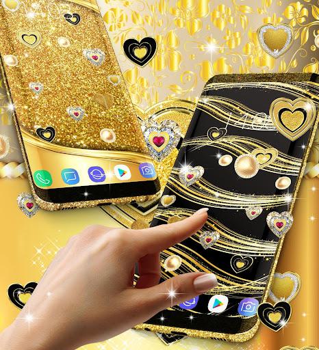 Gold live wallpaper 2021 apktram screenshots 11