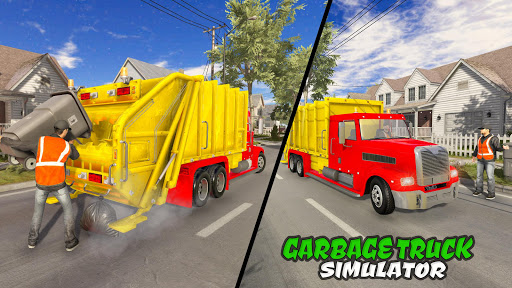 Modern Trash Truck Simulator - Free Games 2020  screenshots 1