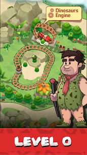 Stone Park: Prehistoric Tycoon Mod Apk 1.4.3 (Unlimited Gold + VIP) 2