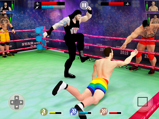 Tag Team Wrestling Games: Mega Cage Ring Fighting modavailable screenshots 9