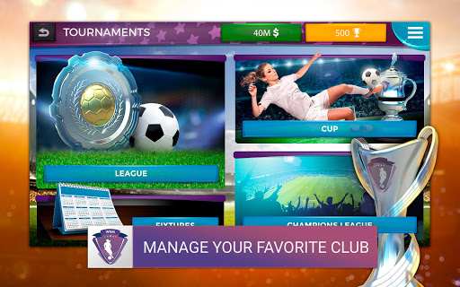 Women's Soccer Manager (WSM) - Football Management 1.0.42 screenshots 12