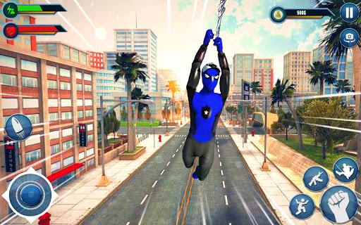 Spider hero game - mutant rope man fighting games  screenshots 11