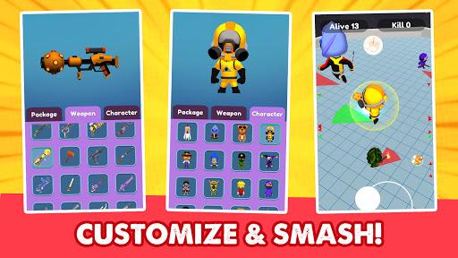 Monster Smasher - Fun io game  screenshots 1