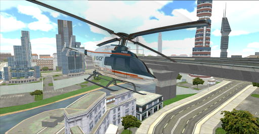 police helicopter pilot 3d screenshot 2