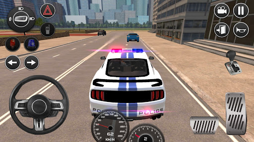 Mustang Police Car Driving Game 2021 1 screenshots 1