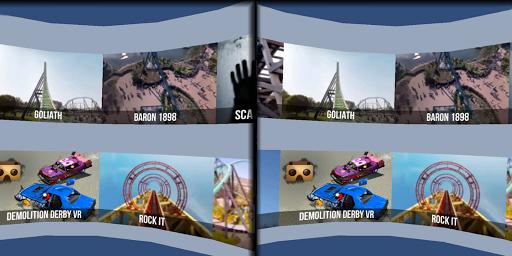 VR Thrills: Roller Coaster 360 (Cardboard Game) 2.1.7 Screenshots 4