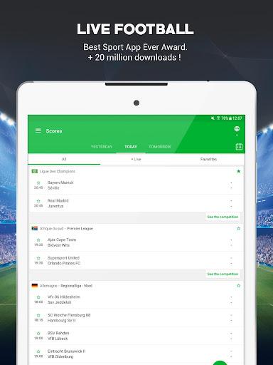 SKORES - Live Football Scores 3.7.6 Screenshots 6