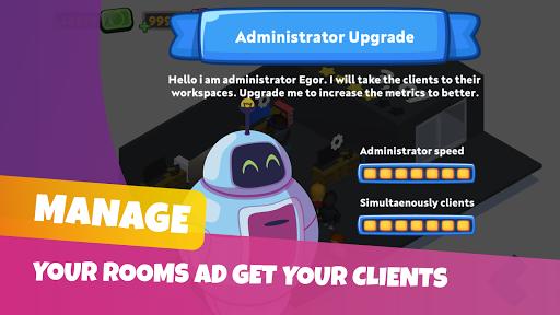 Game Studio Creator - Build your own internet cafe  screenshots 2
