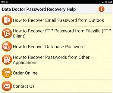 Forgot Password Recovery Help